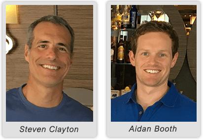 Aidan Booth & Steven Clayton